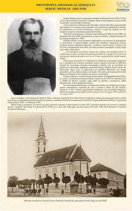 Protopopul ortodox al Sebeșului, Sergiu Medean (1862-1938)