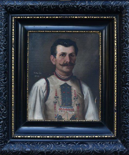 PORTRET DE BĂRBAT (ŢĂRAN) - 1883