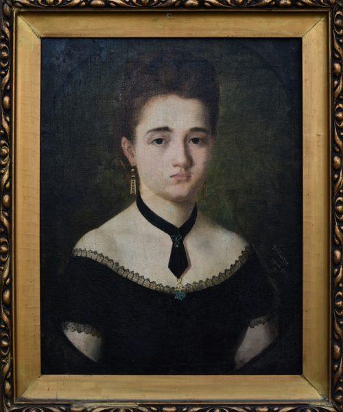PORTRETUL SOŢIEI ARTISTULUI (IRMA) - 1874