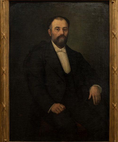 PORTRETUL MINISTRULUI VERNESCU - 1875