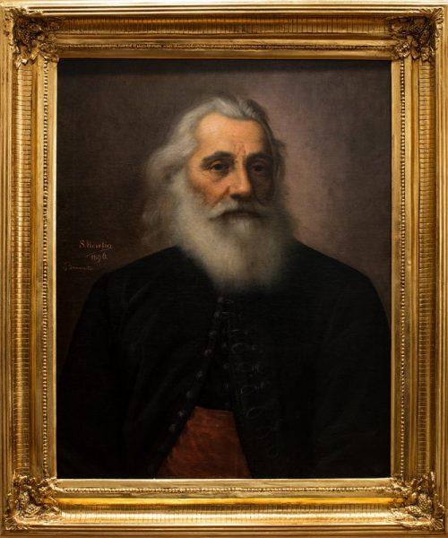 PORTRETUL PROTOPOPULUI IOAN TIPEIU - 1896