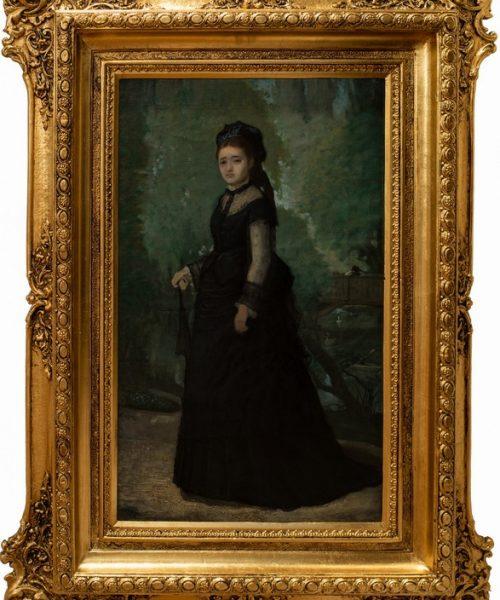 SOŢIA ARTISTULUI (IRMA) - 1875?